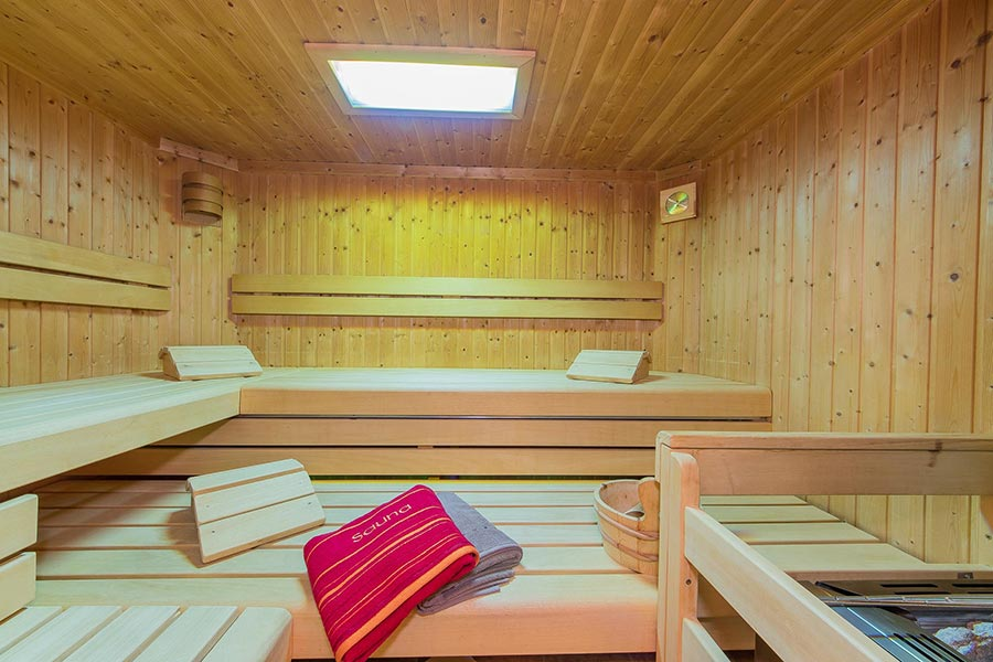 Sauna Wellness Pension Saalbach Hinterglemm 8040