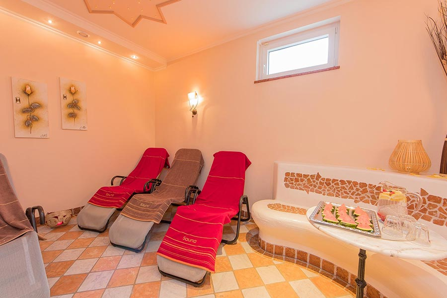 Sauna Wellness Pension Saalbach Hinterglemm 8045