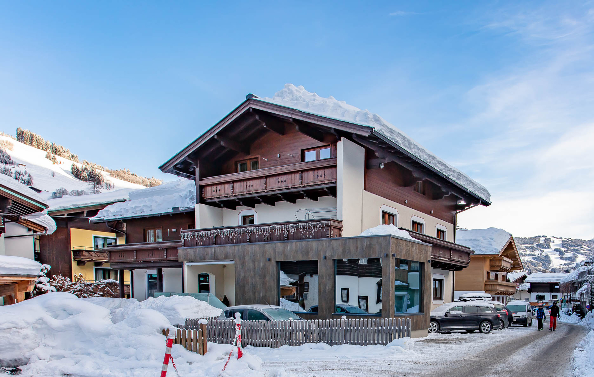 Pension Hinterglemm Winterurlaub 8800